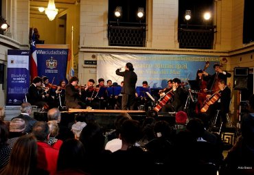 Orquesta del Conservatorio estará en la Catedral Saint Paul's y Club de Viña del Mar