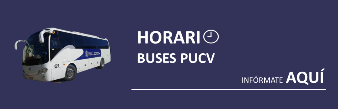 Horario Buses PUCV