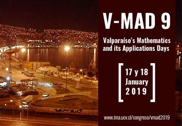 "IMA realizará congreso ""Valparaíso's Mathematics and Applications Days"""