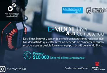 Estudiantes participan en nueva versión de Competencia E-MOOT 2020