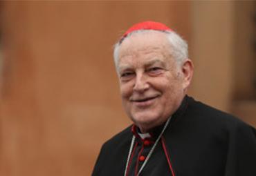Carta de condolencias del rector Elórtegui por fallecimiento del Cardenal Grocholewski